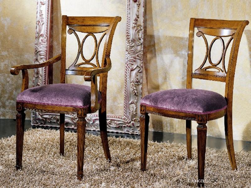 stylová čalouněná židle 6610