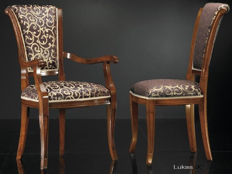 luxusní stylová židle 7640