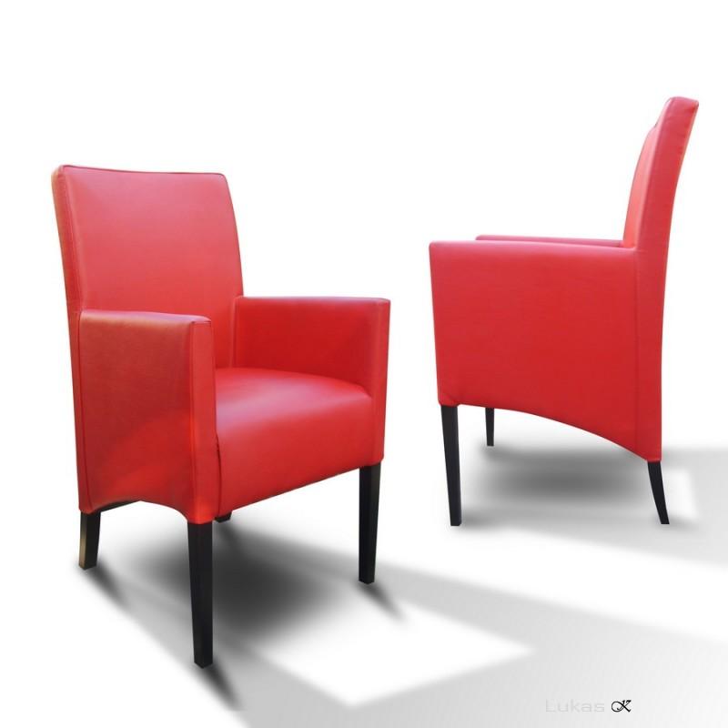 čalouněná židle s područkama P98 SI