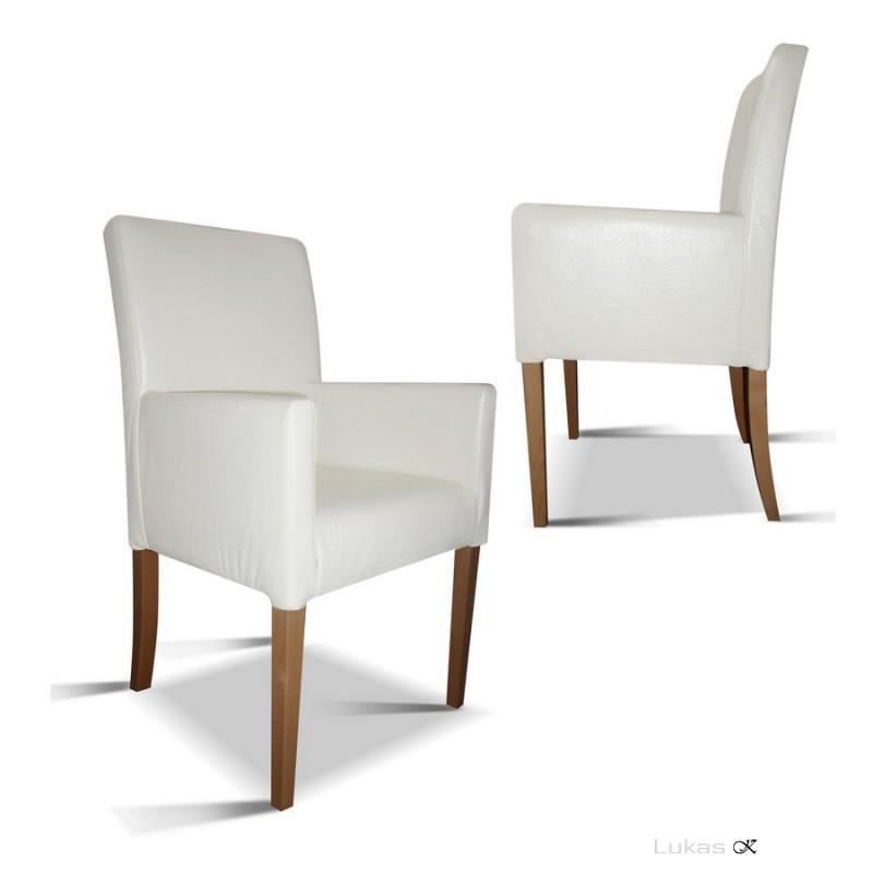čalouněná židle s područkama P98 TE