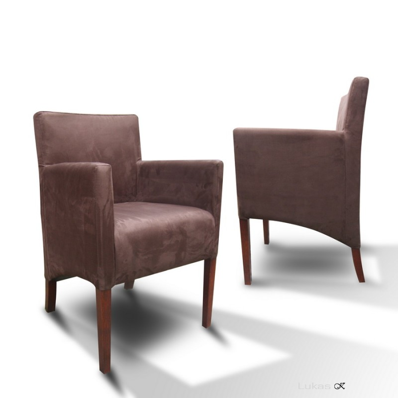 čalouněná židle s područkama P84 SI