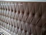 luxusní čalouněná postel 6026