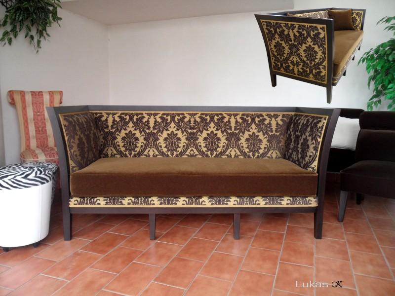 luxuriös Hotel Sofa