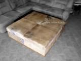 luxusní taburet čalouněný z kůže vodního buvola