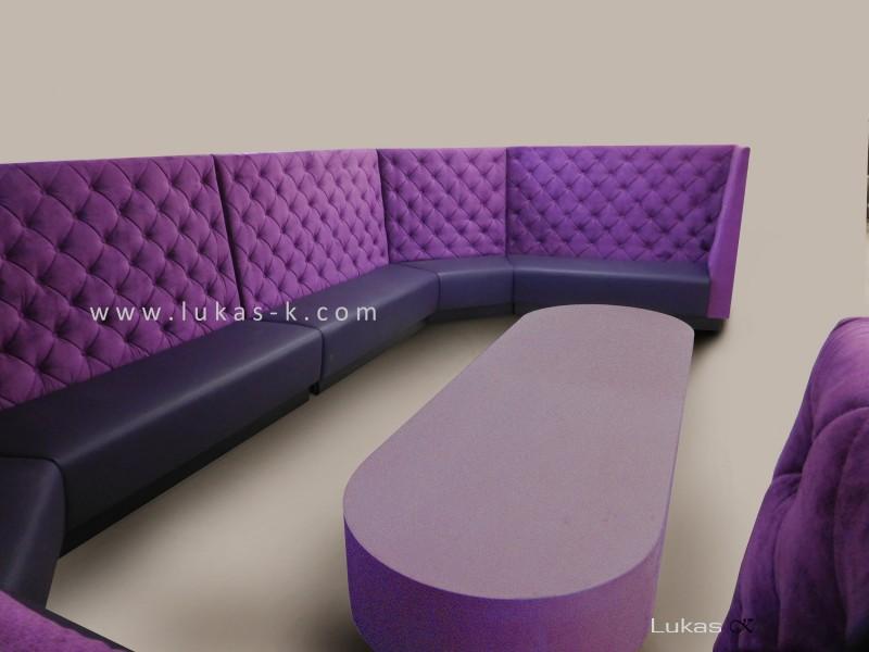 čalouněný sedací box 3011-2