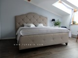čalouněná stylová postel  5002