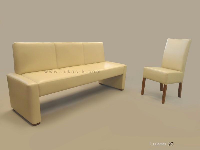 čalouněná jídelní lavice 3009