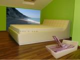 čalouněná postel EGREMNI 6011